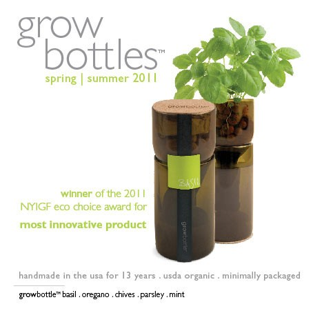 recycled grow bottles earth easy