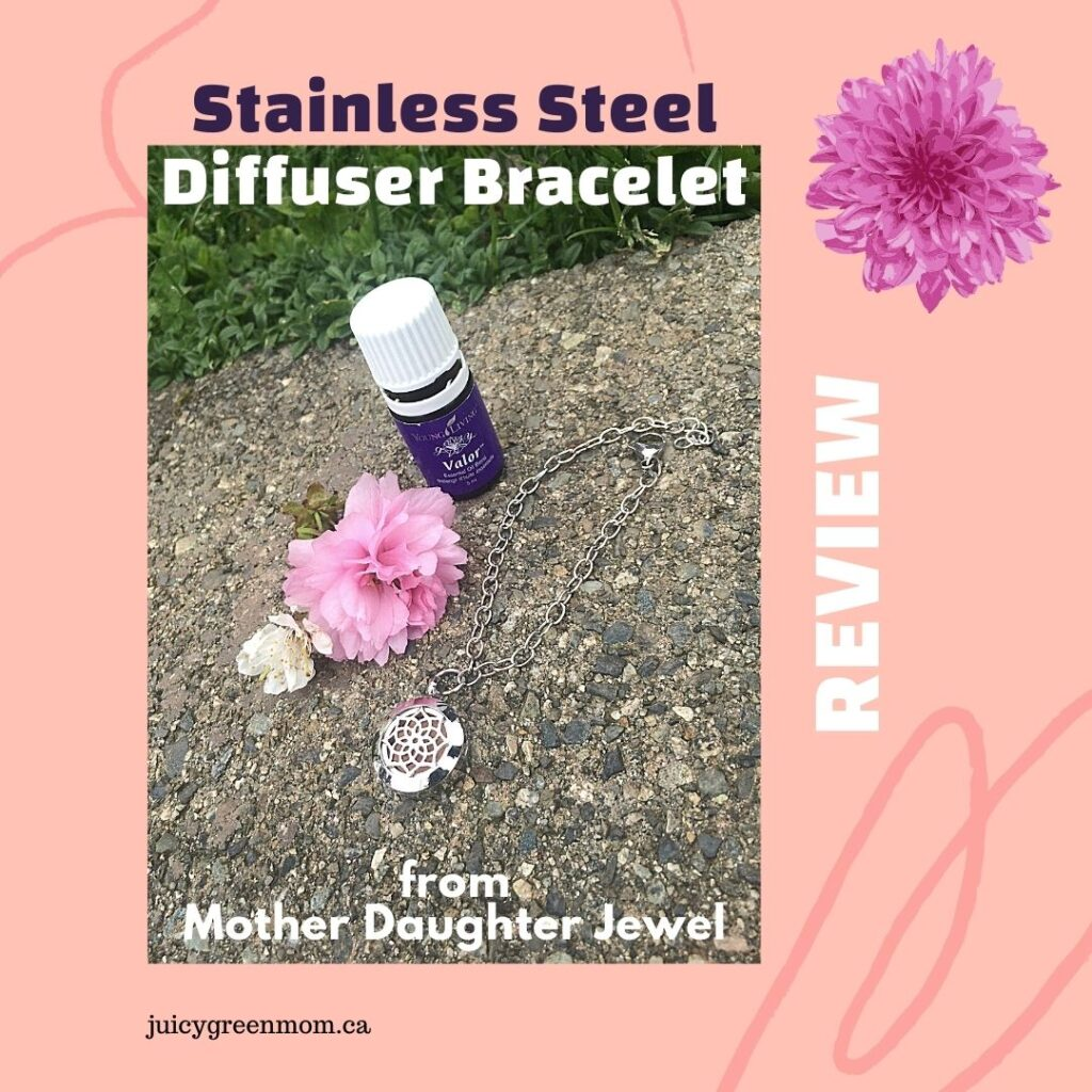 Stainless Steel Diffuser Bracelet REVIEW from Mother Daughter Jewel juicygreenmom