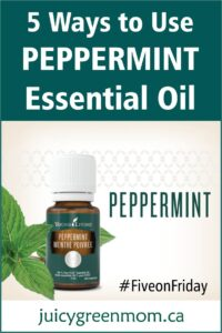 five on friday ways to use peppermint essential oil juicygreenmom