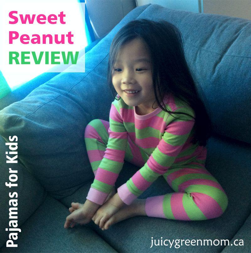 sweet peanut review pajamas for kids juicygreenmom