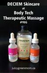 DECIEM skincare body tech therapeutic yeg juicygreenmom