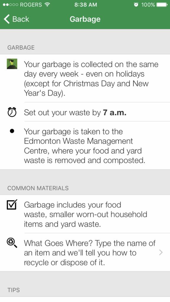 garbage wastewise app juicygreenmom