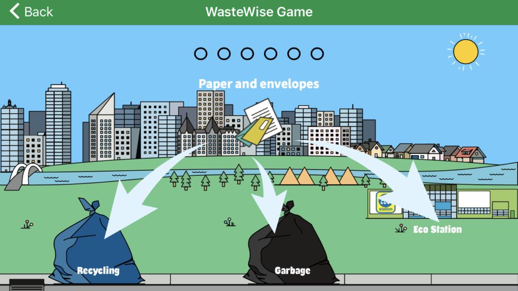 wastewise game app juicygreenmom