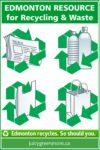 edmonton resource for recycling and waste juicy green mom