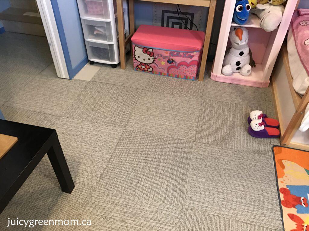 FLOR carpet tiles pattern juicygreenmom