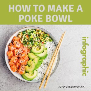 how to make a poke bowl juicygreenmom IG