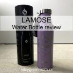 lamose water bottle review juicygreenmom