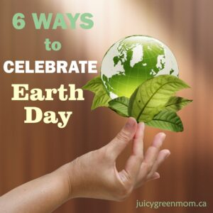 6 ways to celebrate earth day 2018 juicygreenmom