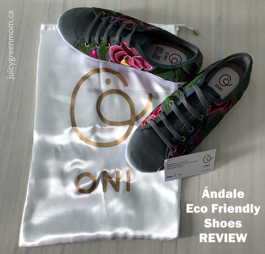 andale eco friendly shoes review juicygreenmom