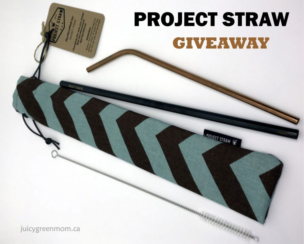 project straw giveaway juicygreenmom