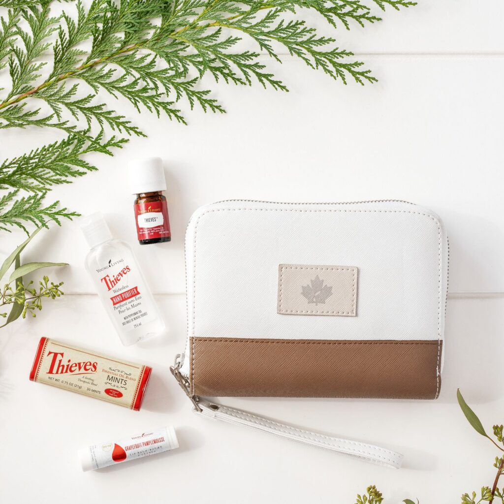 young living thieves on the go purse pack