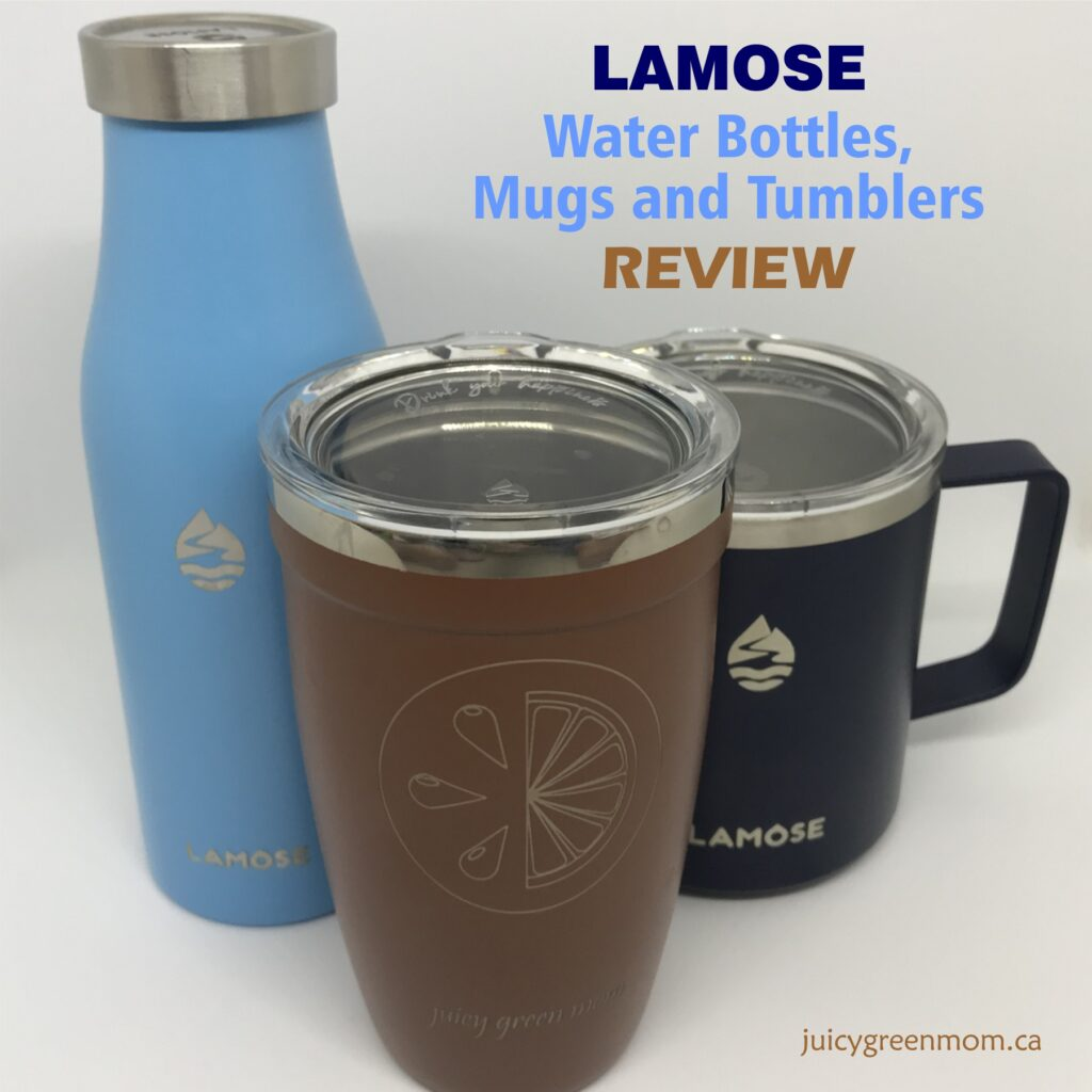 lamose water bottles mugs and tumblers review juicygreenmom