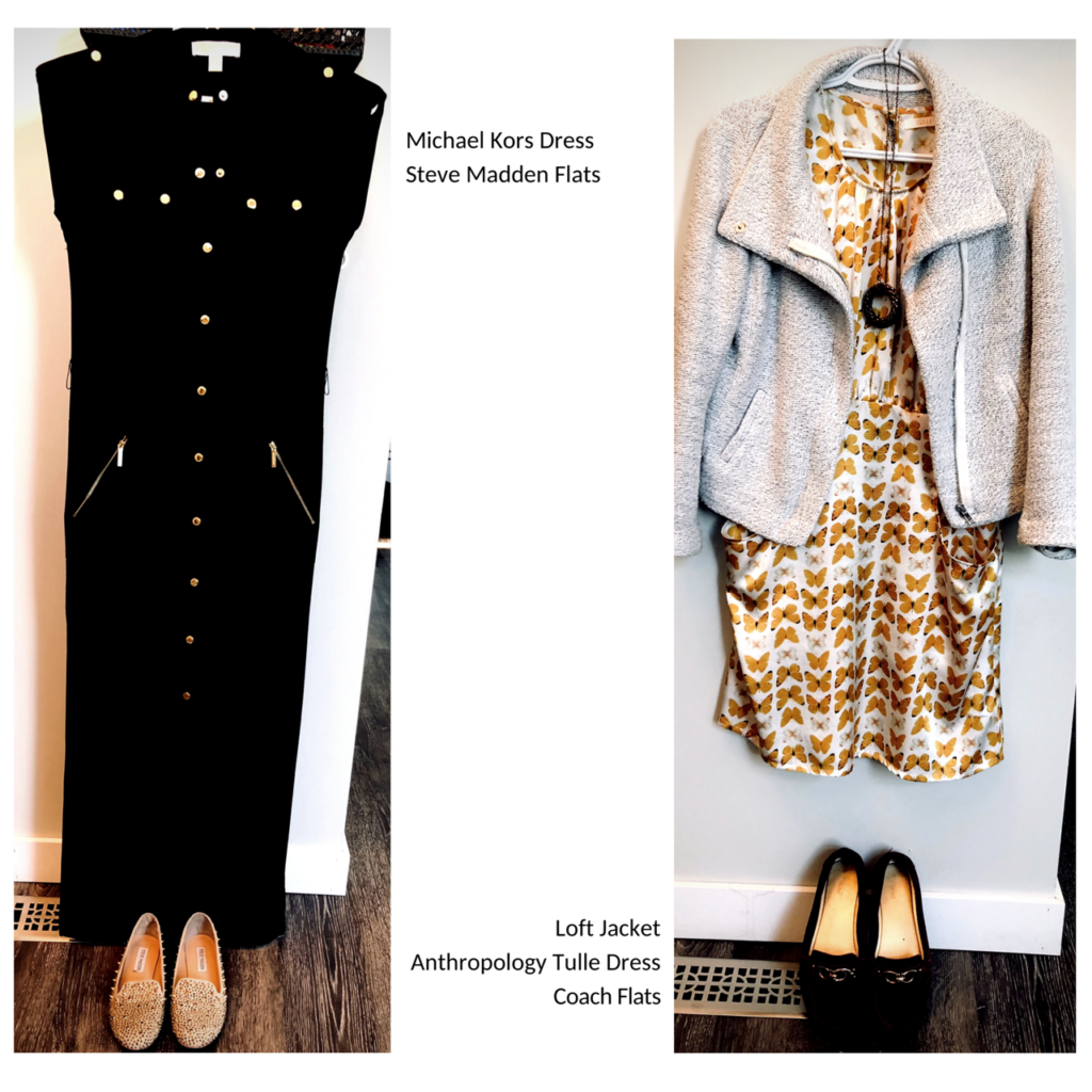 how to shop second hand clothing like a boss 2 outfits