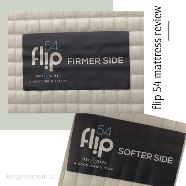 flip 54 mattress review juicygreenmom