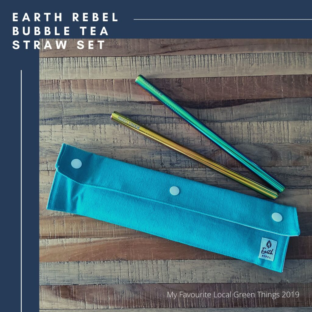 Earth rebel Bubble tea straw set juicygreenmom favourite local green things