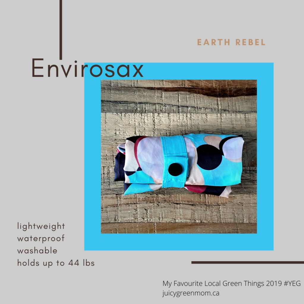 Envirosax Earth Rebel juicygreenmom my favourite local green things 2019