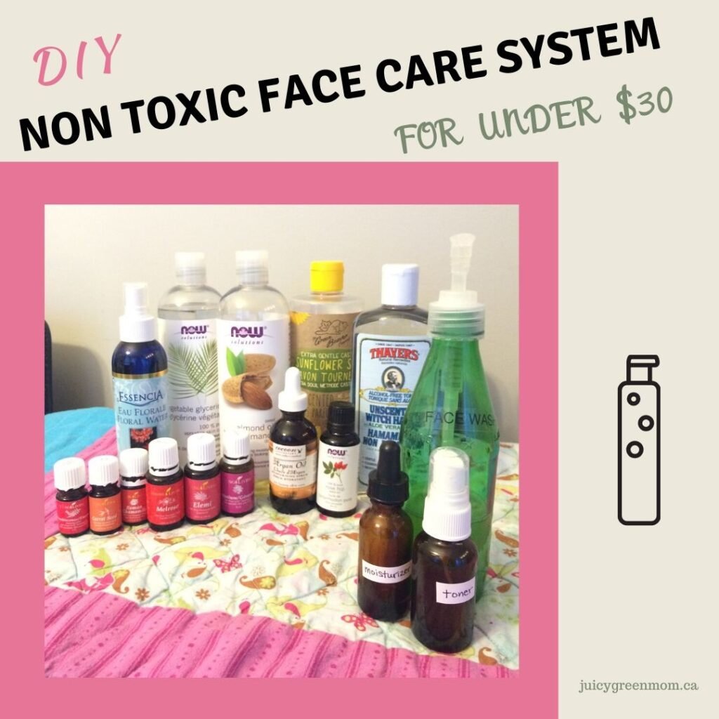 diy non toxic face care system for under 30 juicygreenmom
