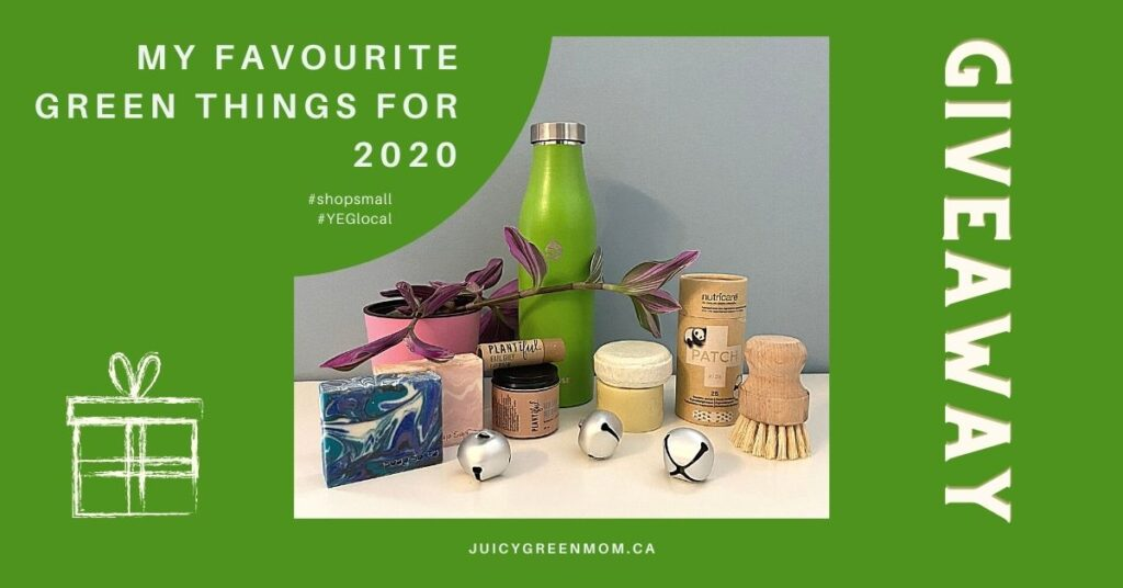 my favourite green things for 2020 juicygreenmom front page