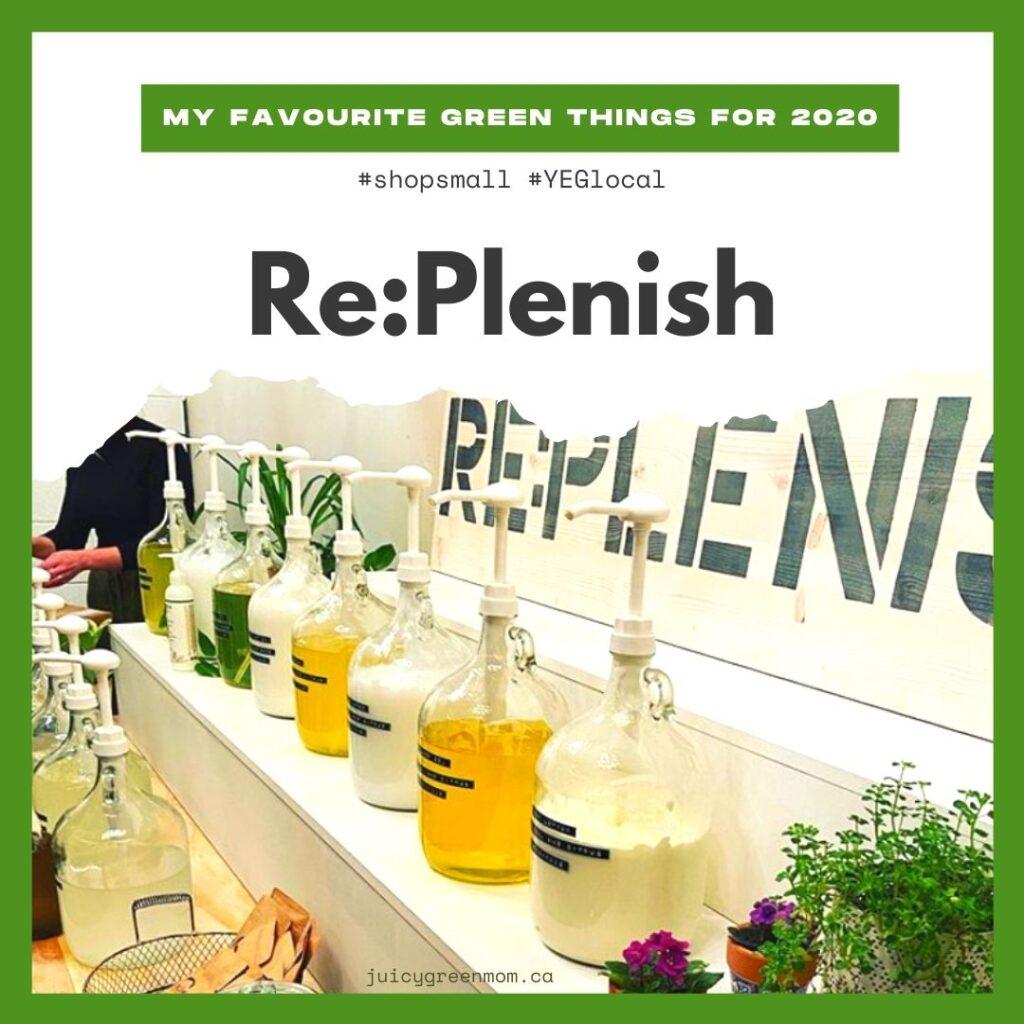 my favourite green things for 2020 replenish juicygreenmom