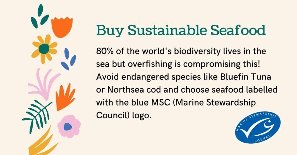 buy sustainable seafood biodiversity juicygreenmom
