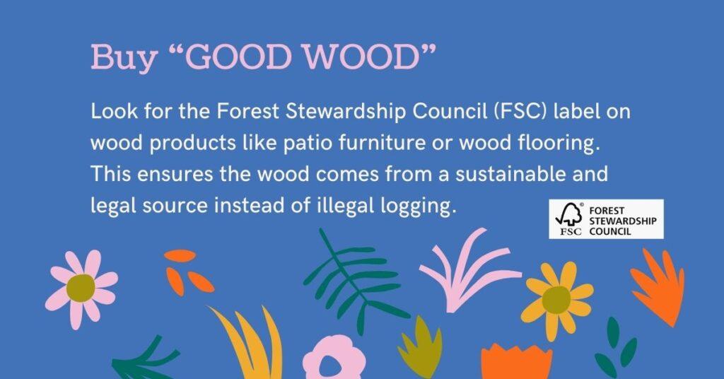 buy good wood biodiversity juicygreenmom