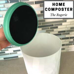 recycled plastic home composter from the rogerie juicygreenmom