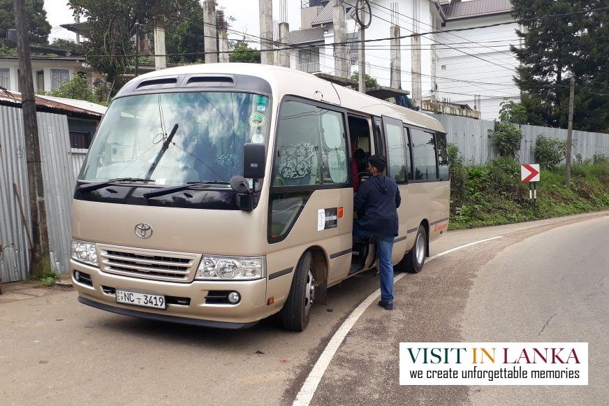 rent a car with driver sri lanka bus
