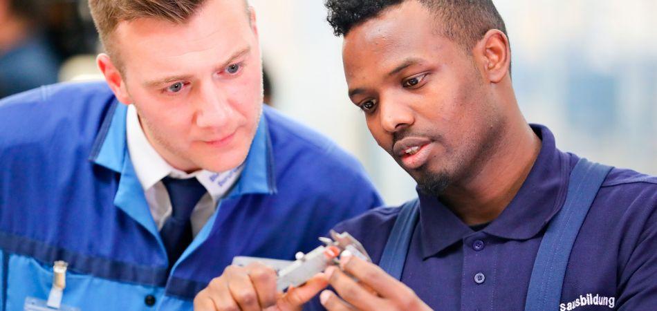 Ausbildung in der Automobilindustrie