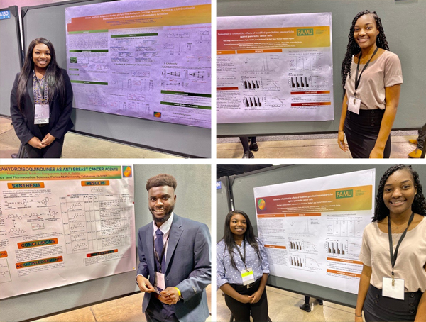 CaRE2 Summer Undergraduate Trainees 2019 presenting their research at ABRCMS national meeting 2019