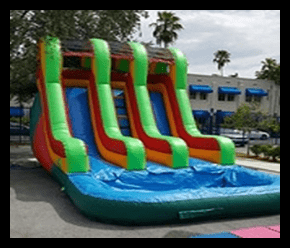 Slide 18' DOUBLE LANE FUN $200.00