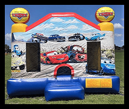 Cars bounce house 13x13 $100.00