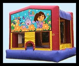 Dora Bounce house 13x13 $90.00