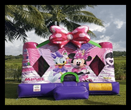 Minnie Mouse bounce house 13x13 $100.00