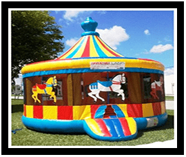 Bounce House Carousel $165.00