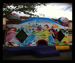 Princesses - Bounce House 13x13 $100.00