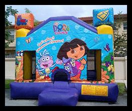 Dora - Bounce House 13x13 $100.00