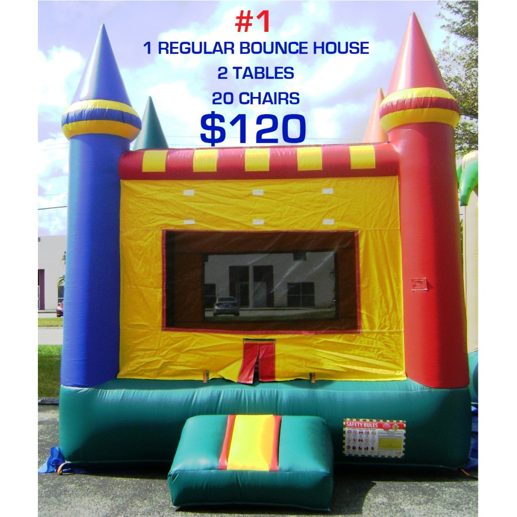 party rental package #1