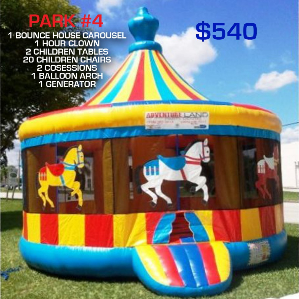 Park party rental package #4
