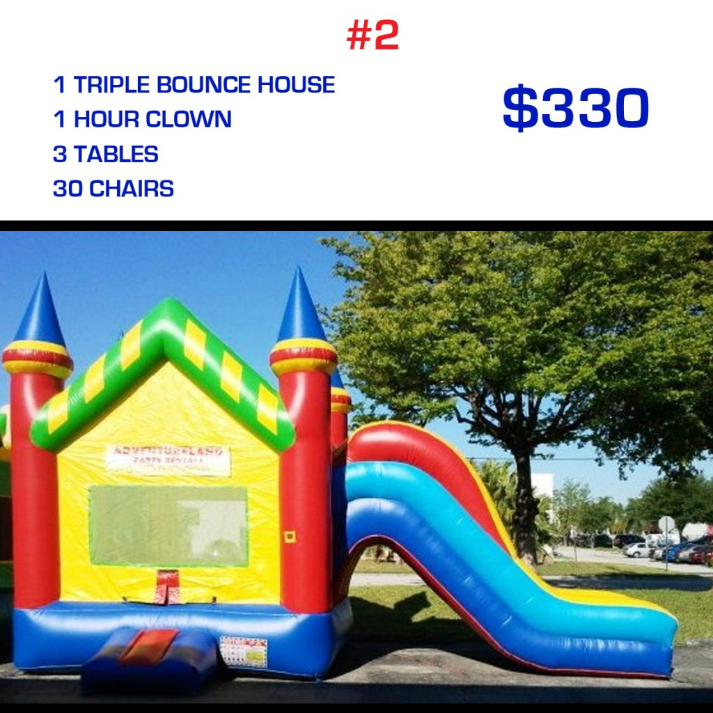 party rental package #2