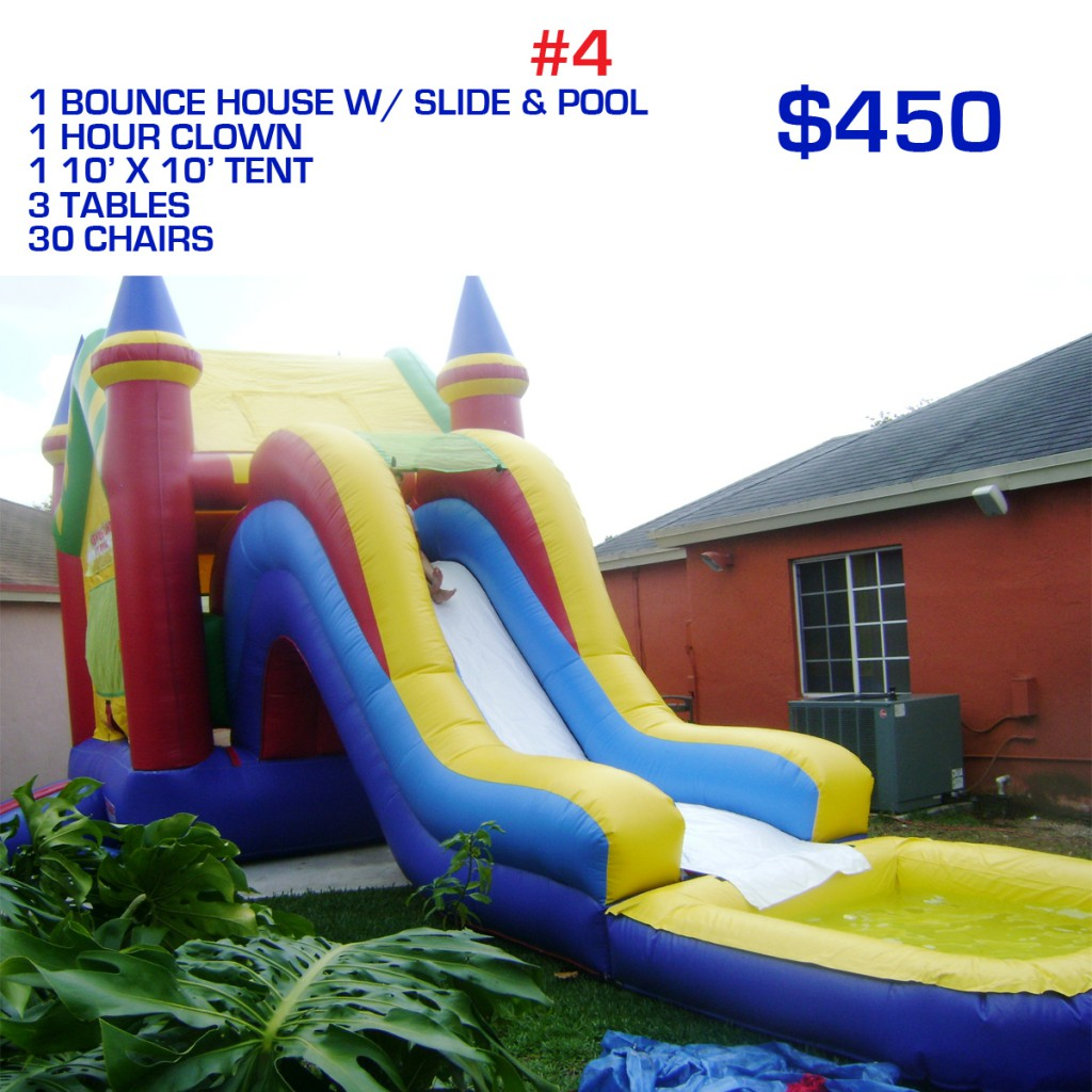 party rental package #4