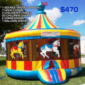 party rental package #6