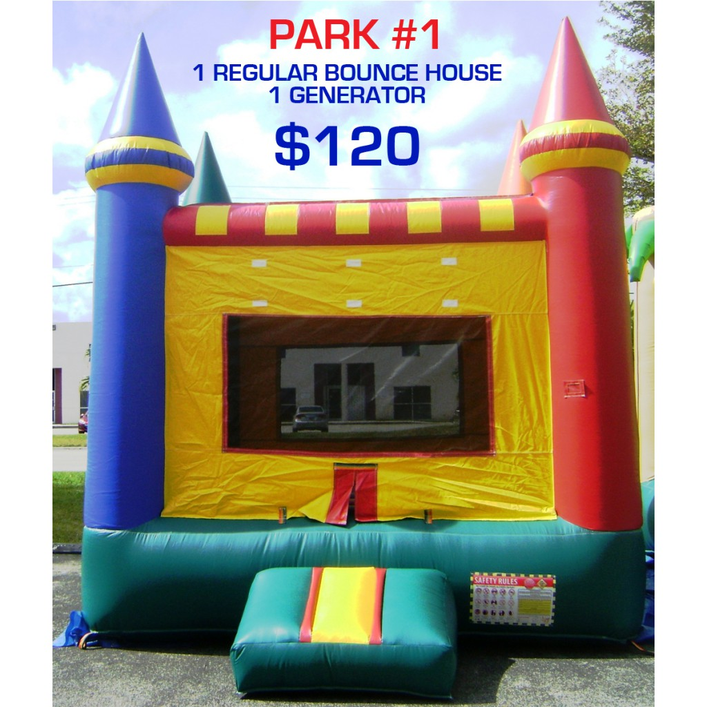 Park party rental package #1