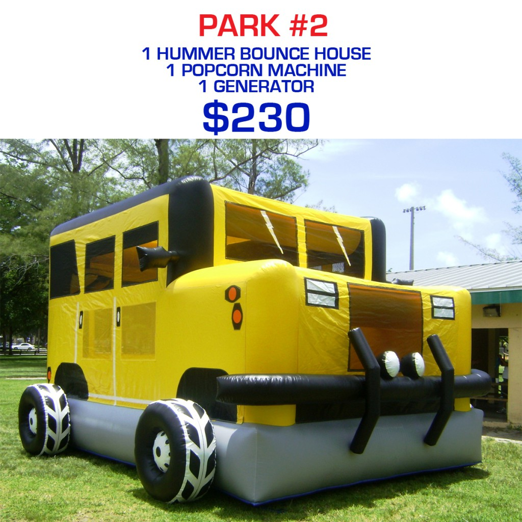 Park party rental package #2