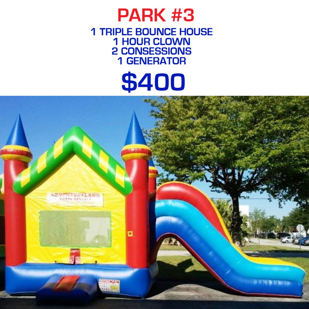 Park party rental package #3