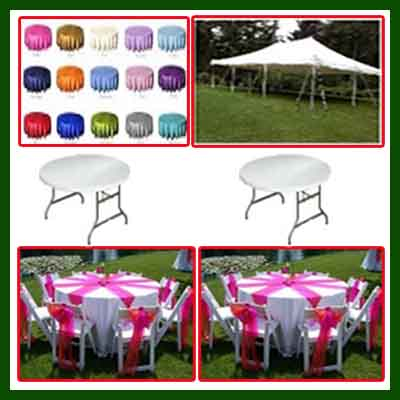 party rentals Miami package