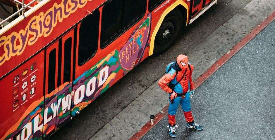 Spiderman bounce house rental