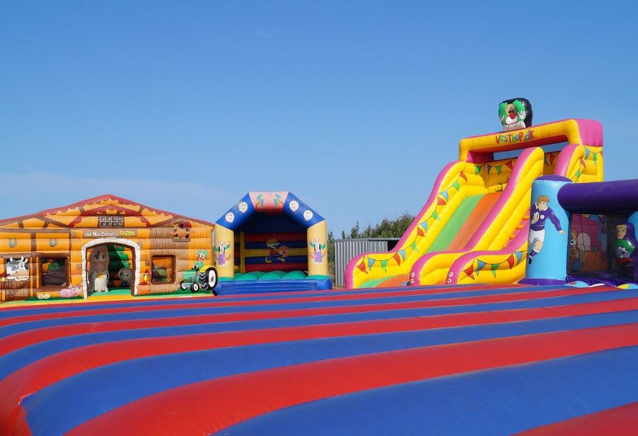 Bounce house rentals Miami Fundraiser event