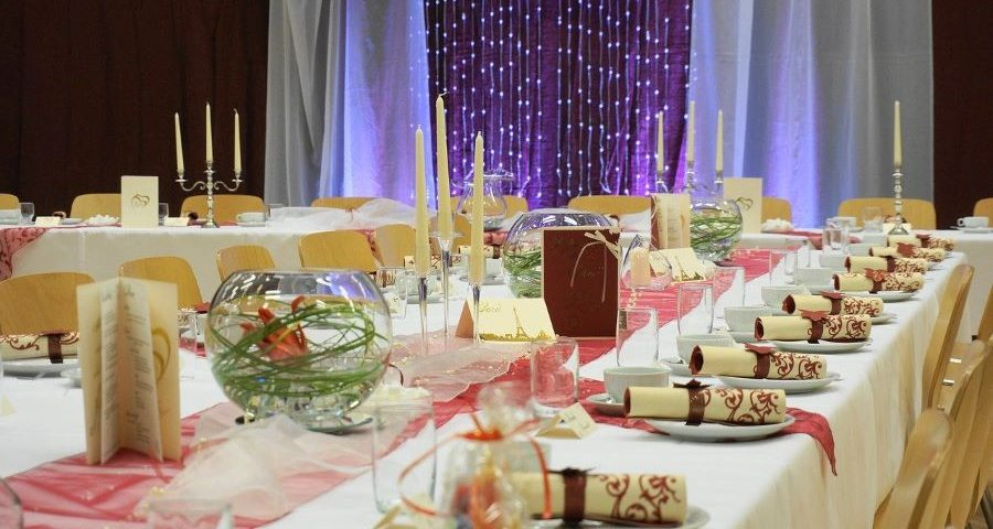 Wedding Planners in Miami dinner setting