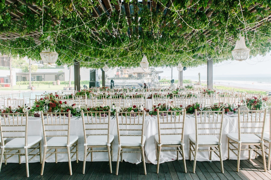 party rentals near me -beige and-white dining chairs and-tables