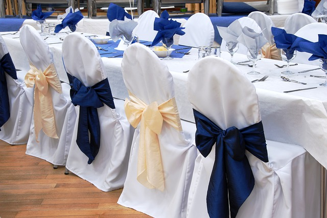 wedding planners in Miami top chair covers and sashes